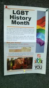 THD ~ LGBT History Month Poster