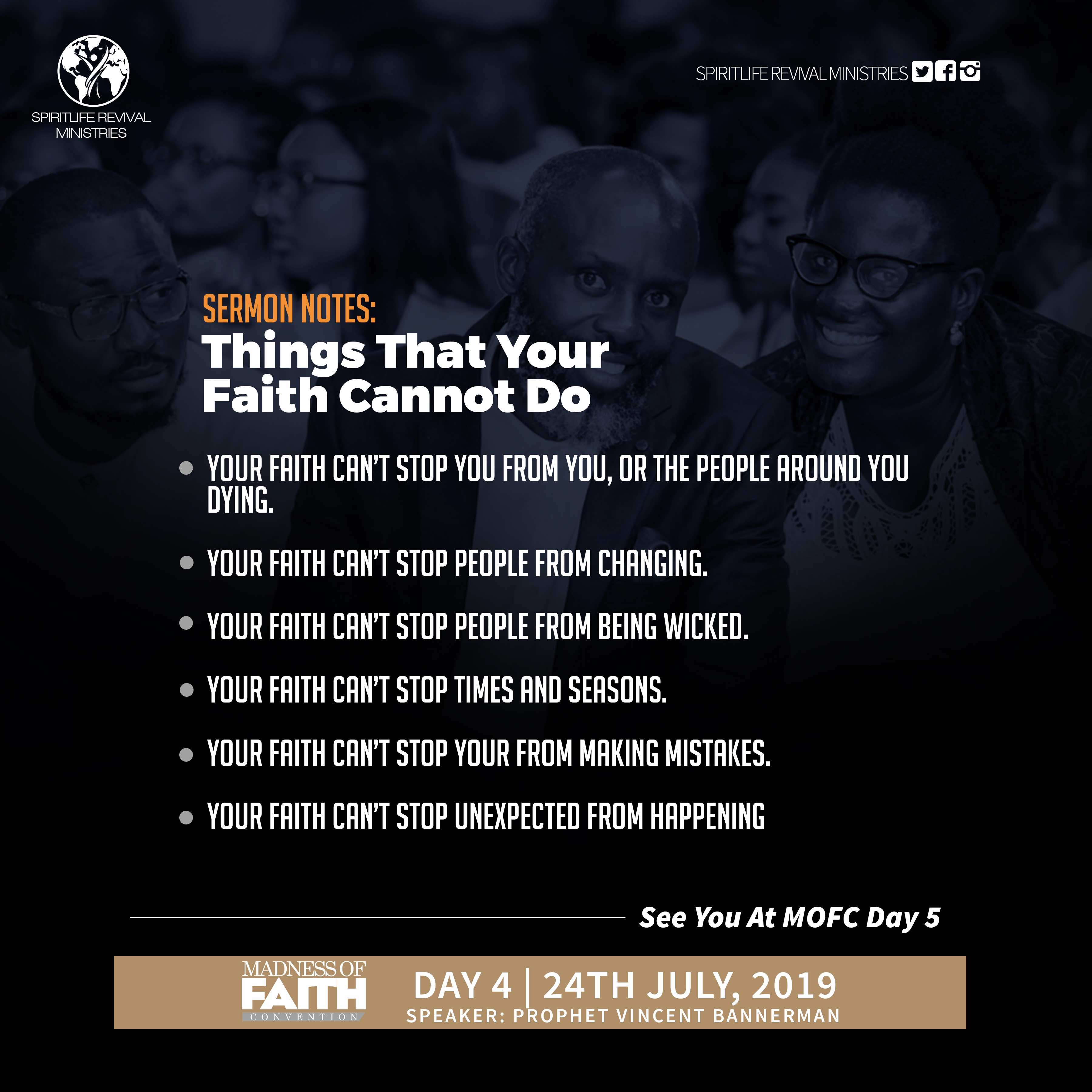 Madness of Faith Convention 2019 - Day 4