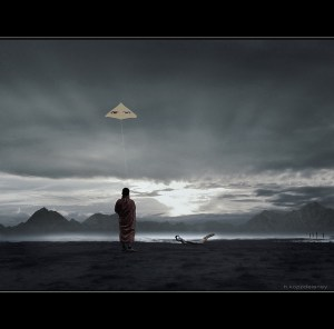 Eye's of Truth - Buddha's Kite
