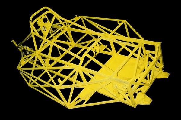 FILTRE   chassis tubes SRF-bare-frame