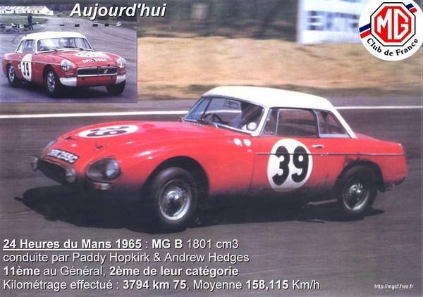 FILTRE   le Mans  1965