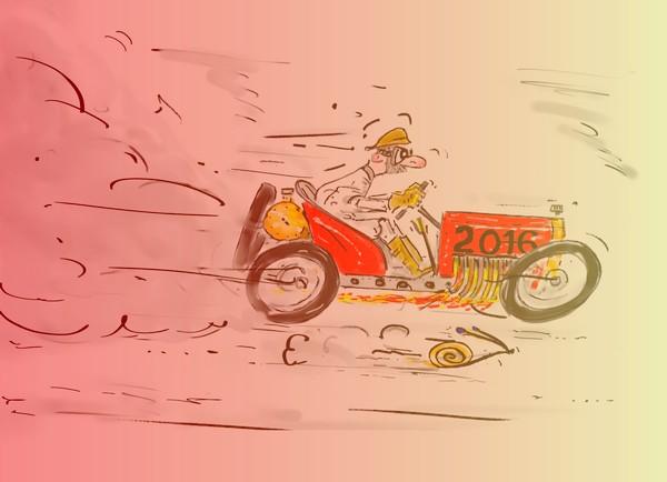FILTRE RETOUCHE voeux 2016 racer