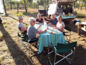Outback Glamping Holidays on Kimberley Tours
