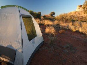 impson Desert Tours camping