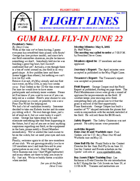 Flight Lines (June-2002)