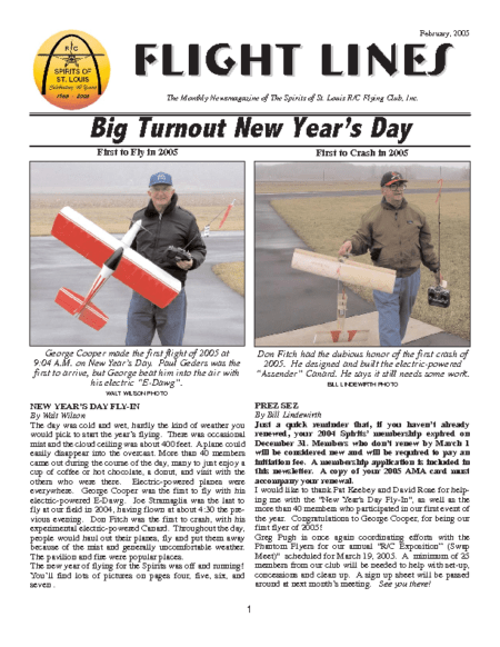 Flight Lines (February-2005)