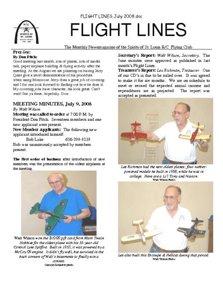 Flight Lines (July-2008)