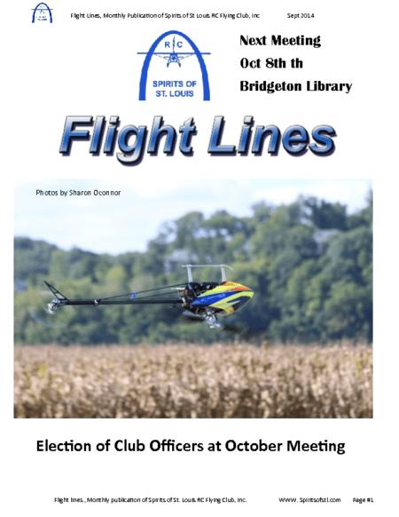 Flight Lines (September-2014)