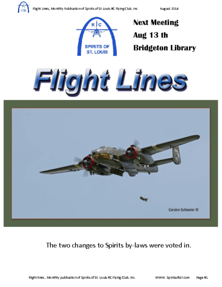 Flight Lines (August-2014)