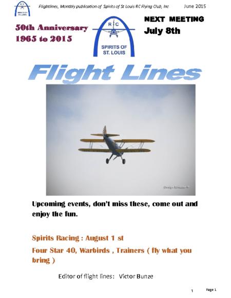Flight Lines (July-2015)