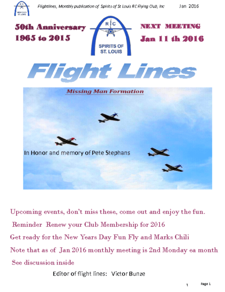 Flight Lines (January-2016)