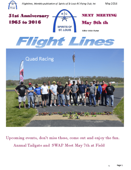 Flight Lines (May-2016)