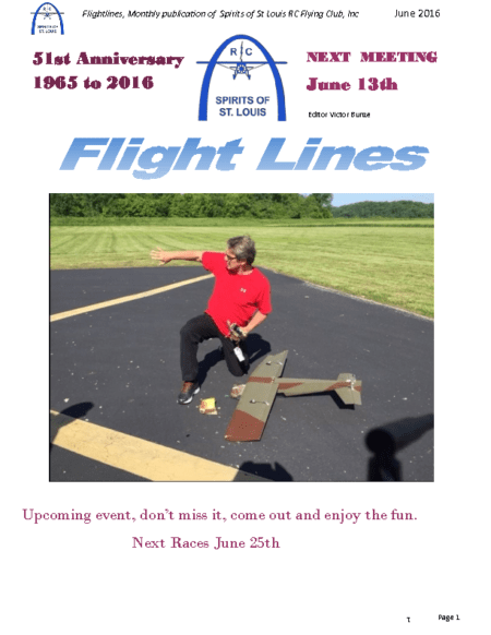 Flight Lines (June-2016)