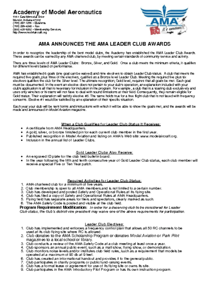 Leader Club Application_AMA Document 708