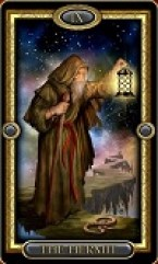 The Hermit is also known to be associated with Saturn