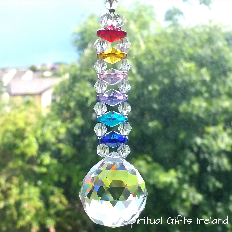 Multi Coloured Pendant Light
