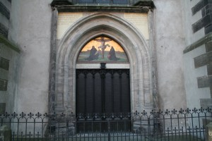 95 Theses Door in Germany