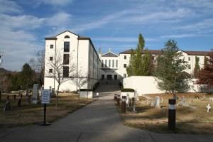 Thomas Merton's abbey, Kentucky (Lori Erickson photo)