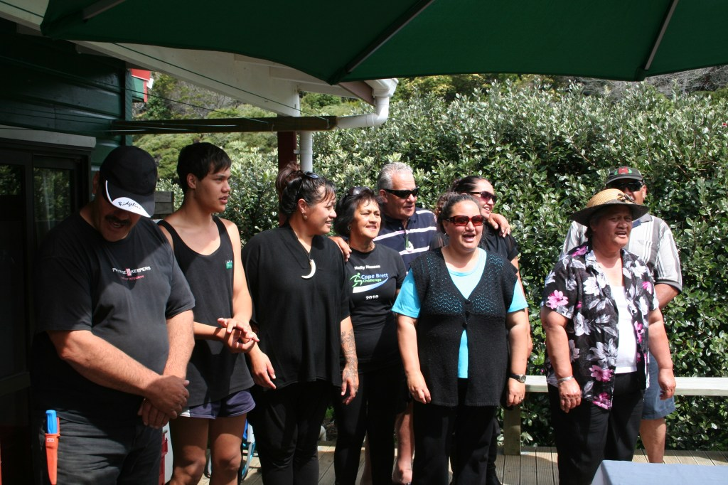 Maori singing