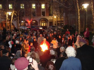Opening Fire Ceremony at the 2012 Festival of Faiths in Louisville (Festival of Faiths photo)