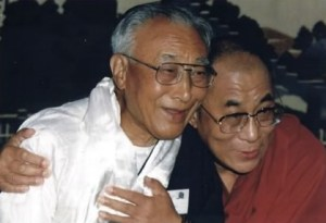 Thubten Norbu with his brother (image from Ambassadors for World Peace)