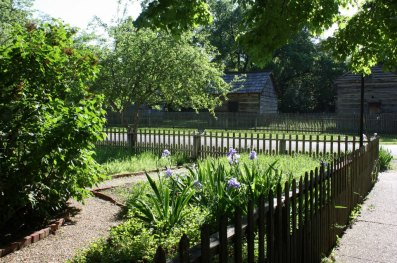picket fence in Indiana