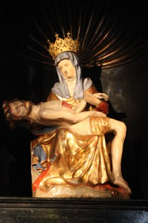 The Statue of Our Lady of Sorrows of Bornhofen dates back to the 15th century. (Bob Sessions photo)