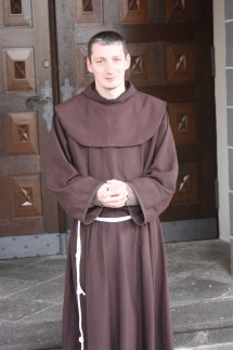 Father Kalikst of the Franciscan Abbey of Bornhofen (Bob Sessions photo)