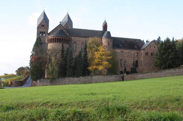 The Benedictine Abbey of St. Hildegard sits on a hill overlooking Rudesheim and Bingen. (Bob Sessions photo)