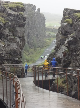 Thingvellir, now a national park, is located on a fault line marking the boundary between two continental plates. (Bob Sessions photo)