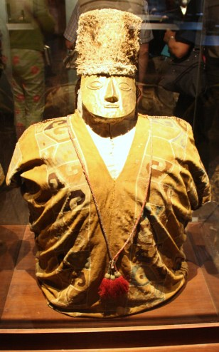 A mummy in the Larco Museum in Lima, Peru (Lori Erickson photo)