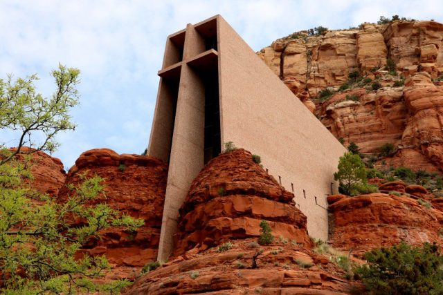 The Chapel of the Holy Cross in Sedona is one of the most beautifully designed churches in the world. (Bob Sessions photo)