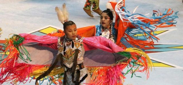 Dancing is a central part of the Gathering of Nations Pow Wow, held each year in Albuquerque, New Mexico. (Bob Sessions photo)