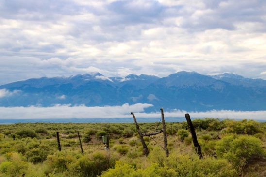 Located at the base of the Sangre de Christo Mountains in southern Colorado, Crestone includes more than two dozen spiritual sites of many different traditions. (Lori Erickson photo)