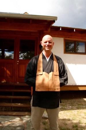 Zenki Christian Dillo, a native of Germany, is director and resident teacher at the Crestone Mountain Zen Center. (Lori Erickson photo)