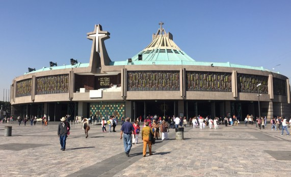 Church at Shrine of Our Lady of Guadalupe in Mexico