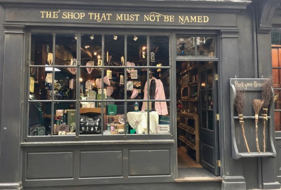 Harry Potter shop in York, Harry Potter shop, The Shop That Must Not Be Named