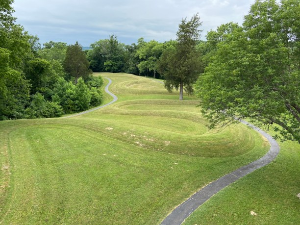 Serpent Mound in Ohio (photo by Bob Sessions)