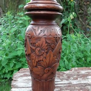 Urn potten hout & Steen