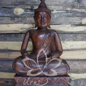 Boeddha Urn hout