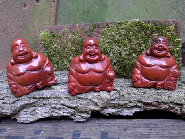 Happy Geluk Boeddha Uit Rode Jaspis Knuffel Boeddha Rode Jaspis Edelsteen Ruwe Edelsteen Grove Edelstenen Ruwe Halfedelsteen Grote Meditatie