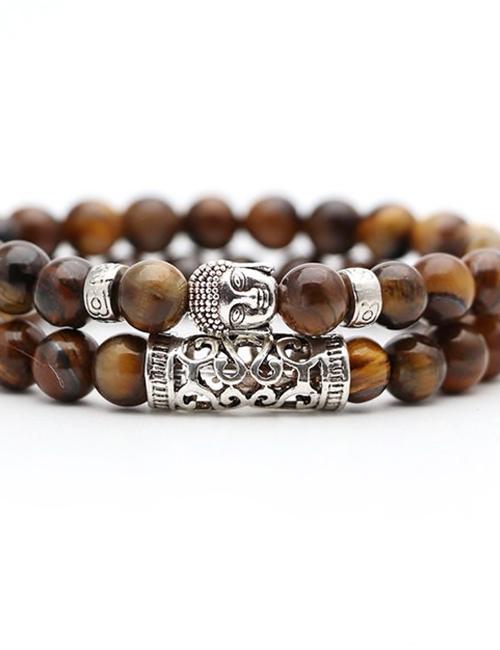 Set-van-twee-Boeddhistische-Tijgeroog-armbanden