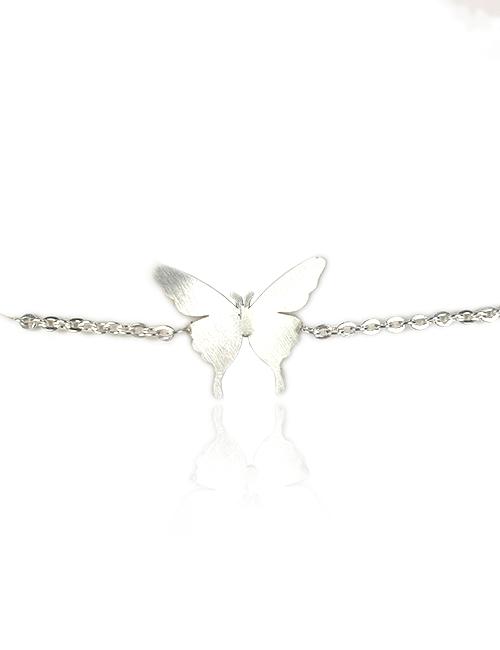 Zilverkleurige-vlinder-vrijheid-armband-slider