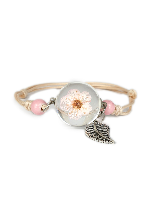 roze-koekruid-in-glas-armband