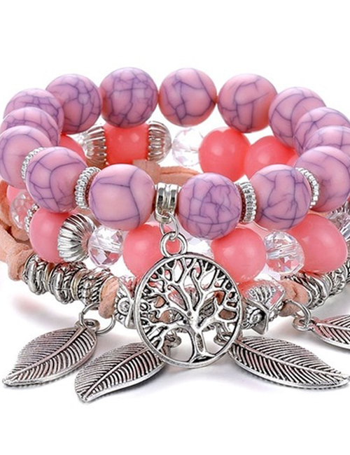 PinkLady Tree of Life Stabiliteit armbanden