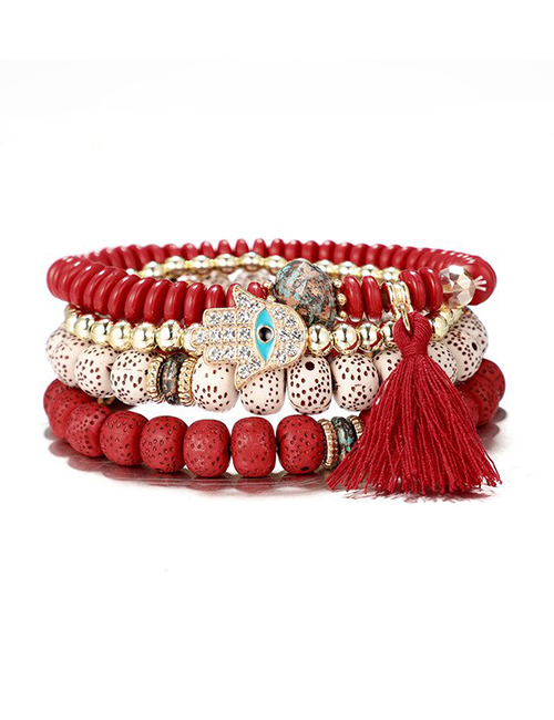 Tibetaans Bohemian Hamsa armbanden