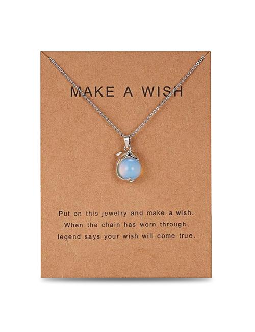 Make a Wish Dolfijn ketting
