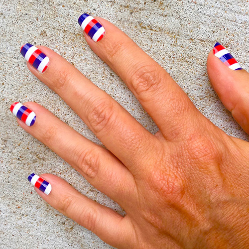 Easy To Apply And Looks Great On Short Or Long Nails All Of Our Designs Are Made Mix Match Wear Your Favorite Mlb Team Colors Represent Cleveland