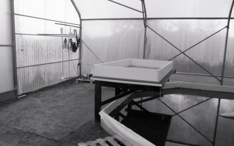 matériel de récolte du premier bassin