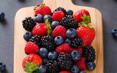 Fruits fraise spiruline